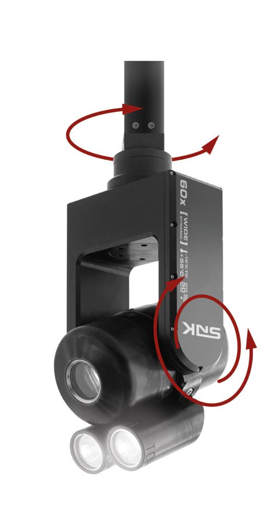 Schwenk-Neige-Zoom Inspektionskamera SNK